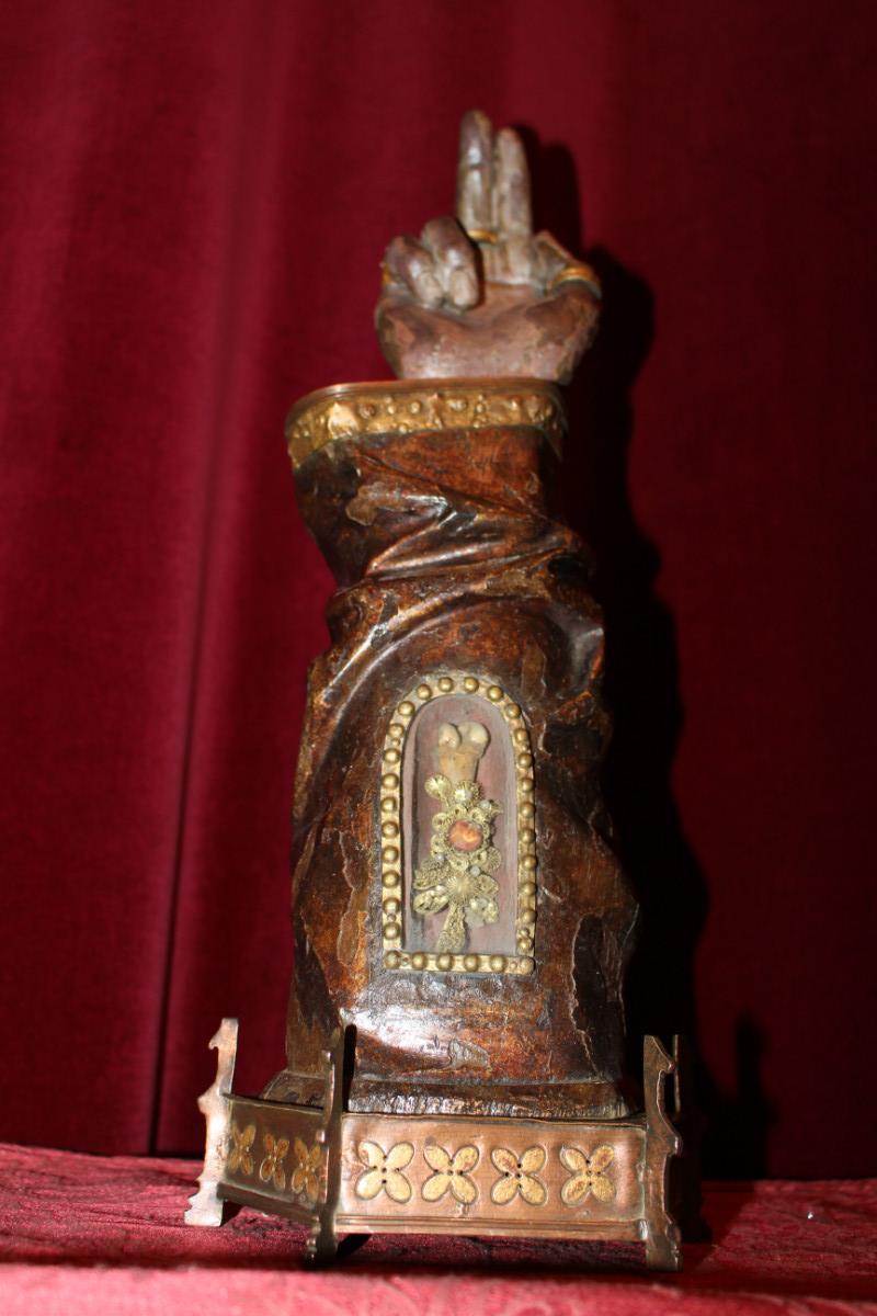 1 baroque arm reliquary reliquaries relics i for Define baroque style