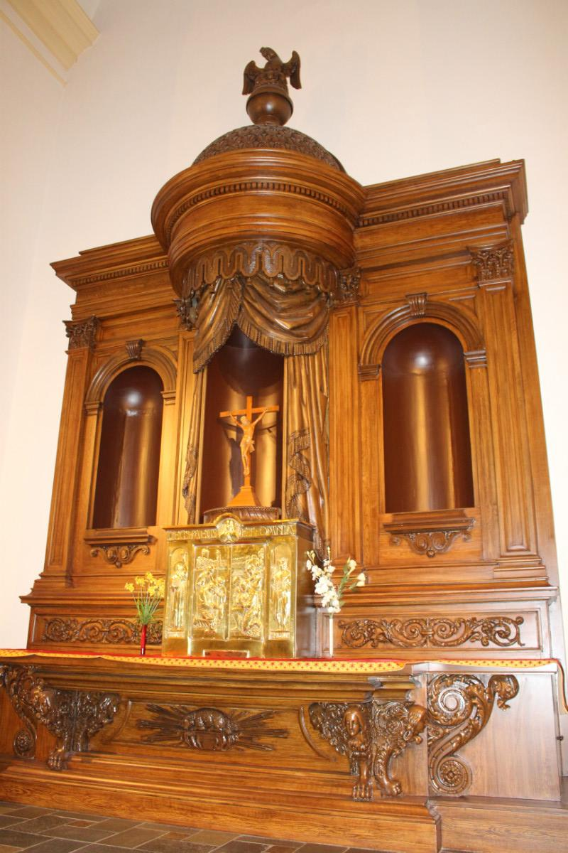 1 baroque heavily carved stunning high quality main altar for Dutch baroque architecture