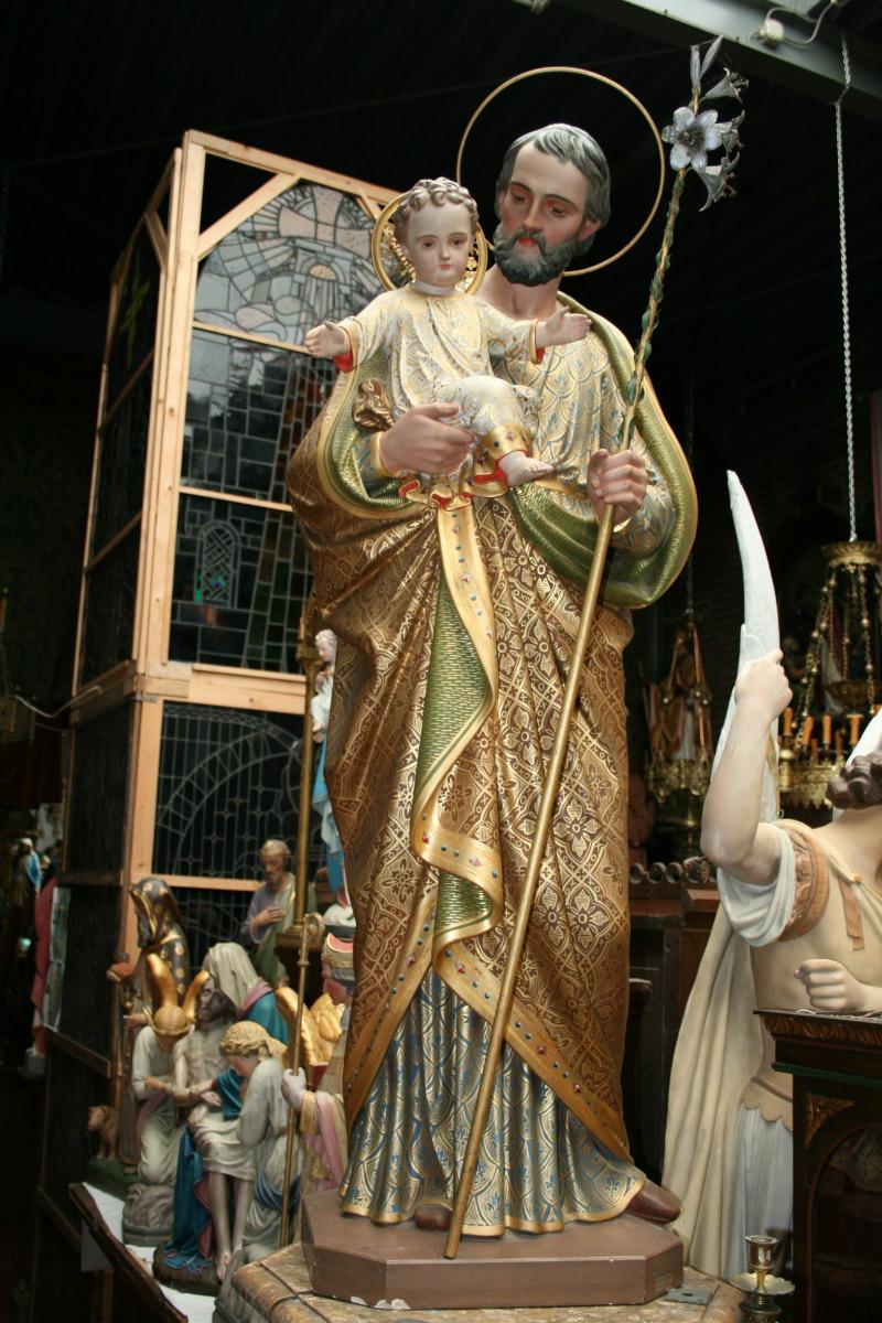 1 St Joseph Statue Religious Church Statues I Fluminalis