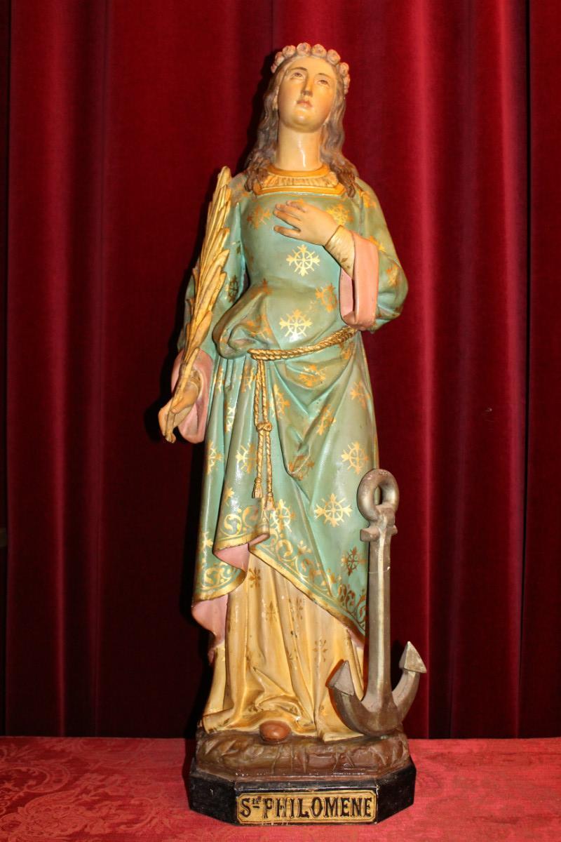 1 st  philomena statue