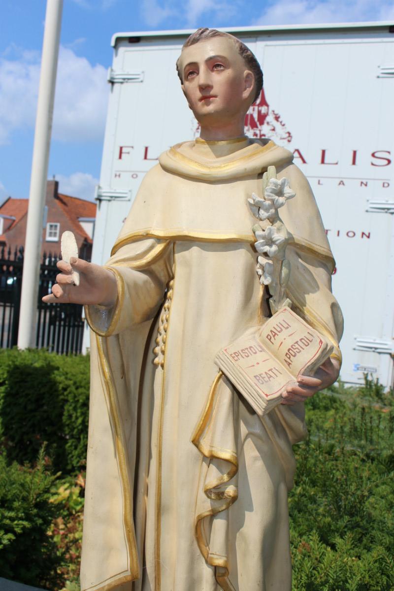 1 Statue St Dominic Religious Church Statues I Fluminalis