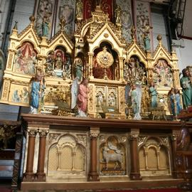 Antique Church Altars