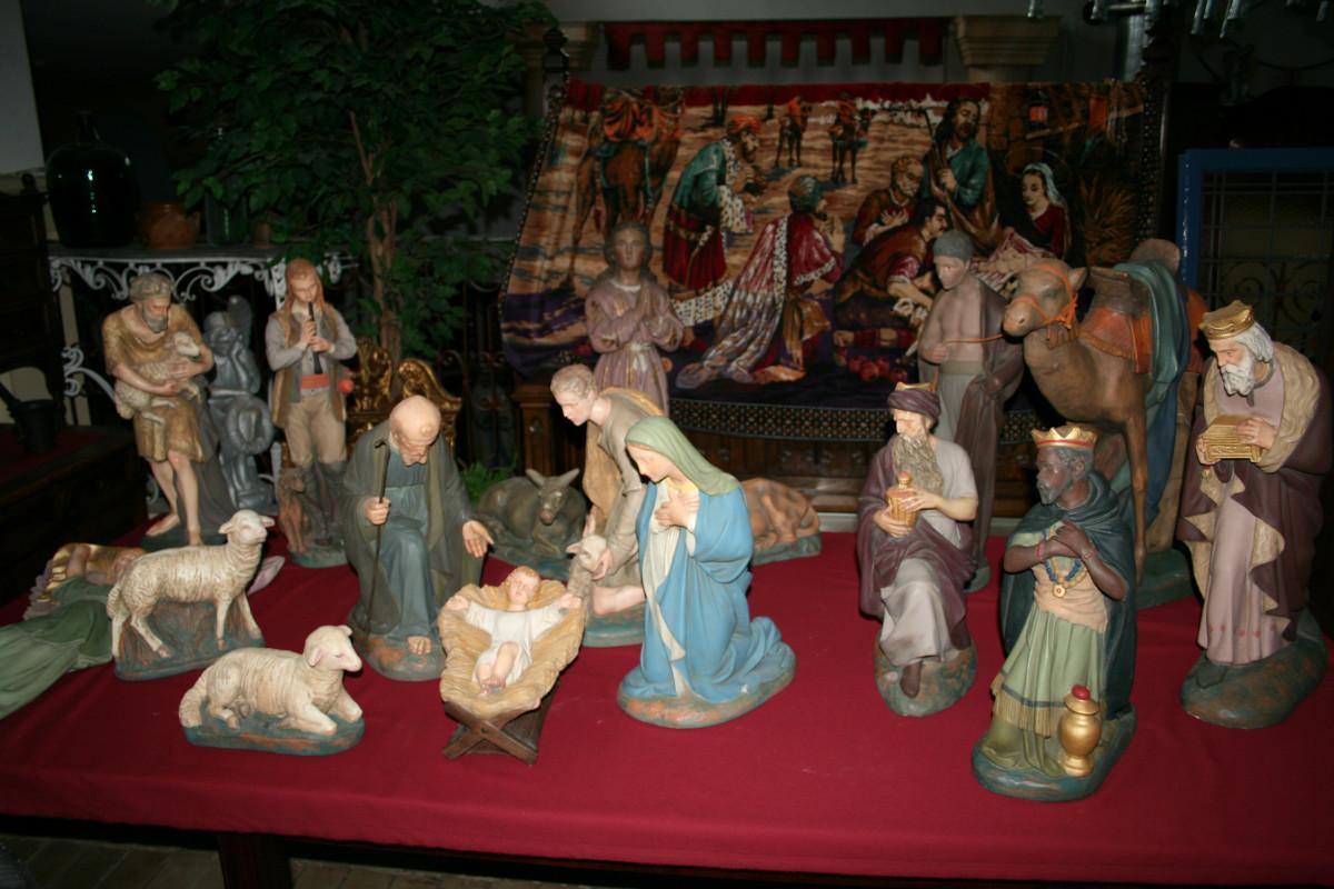 nativity set plaster - nativity sets  u0026 figures