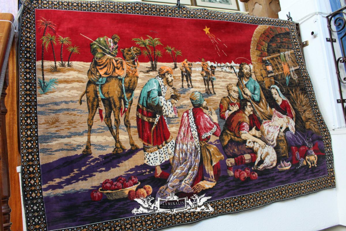 1 Tapestry Nativity Used Vestments Amp Tapestry Fluminalis