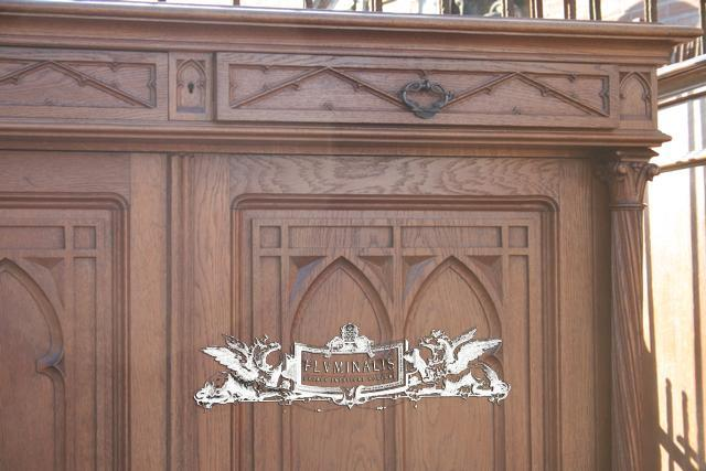 Pair Gothic Cabinets